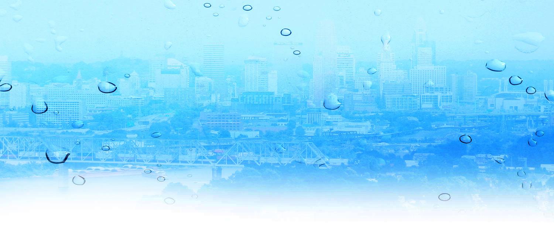 blue water background cincinnati